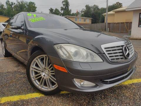 2007 Mercedes-Benz S-Class for sale at The Auto Connect LLC in Ocean Springs MS