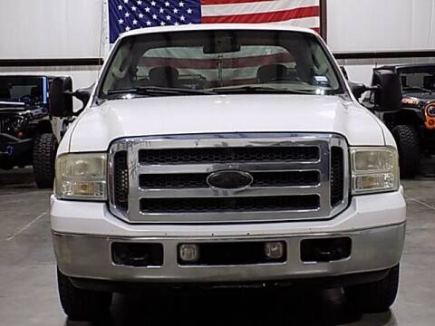 2005 Ford F-250 Super Duty for sale at Texas Motor Sport in Houston TX