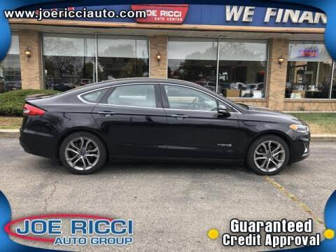 2019 Ford Fusion Hybrid for sale at Mr Intellectual Cars in Shelby Township MI