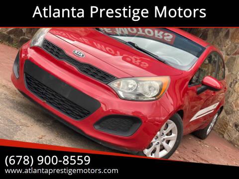 2012 Kia Rio 5-Door for sale at Atlanta Prestige Motors in Decatur GA