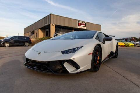 2018 Lamborghini Huracan for sale at KIAN MOTORS INC in Plano TX