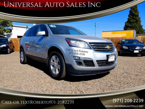 2014 Chevrolet Traverse for sale at Universal Auto Sales Inc in Salem OR