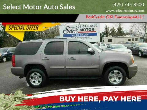 2008 GMC Yukon for sale at Select Motor Auto Sales in Lynnwood WA