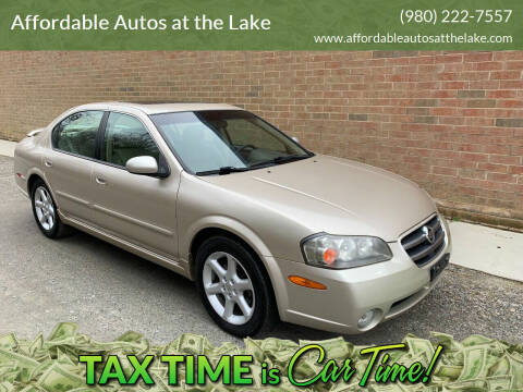 2002 Nissan Maxima for sale at Affordable Autos at the Lake in Denver NC
