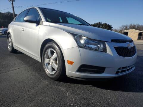 2013 Chevrolet Cruze for sale at Thornhill Motor Company in Lake Worth TX