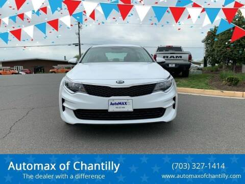 2018 Kia Optima for sale at Automax of Chantilly in Chantilly VA