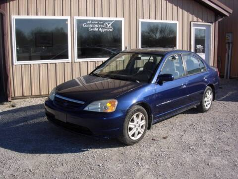 2003 Honda Civic for sale at Greg Vallett Auto Sales in Steeleville IL