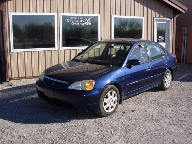 2003 Honda Civic for sale at Greg Vallett Auto Sales in Steeleville IL