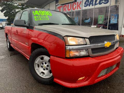 2003 Chevrolet Silverado 1500 for sale at Xtreme Truck Sales in Woodburn OR