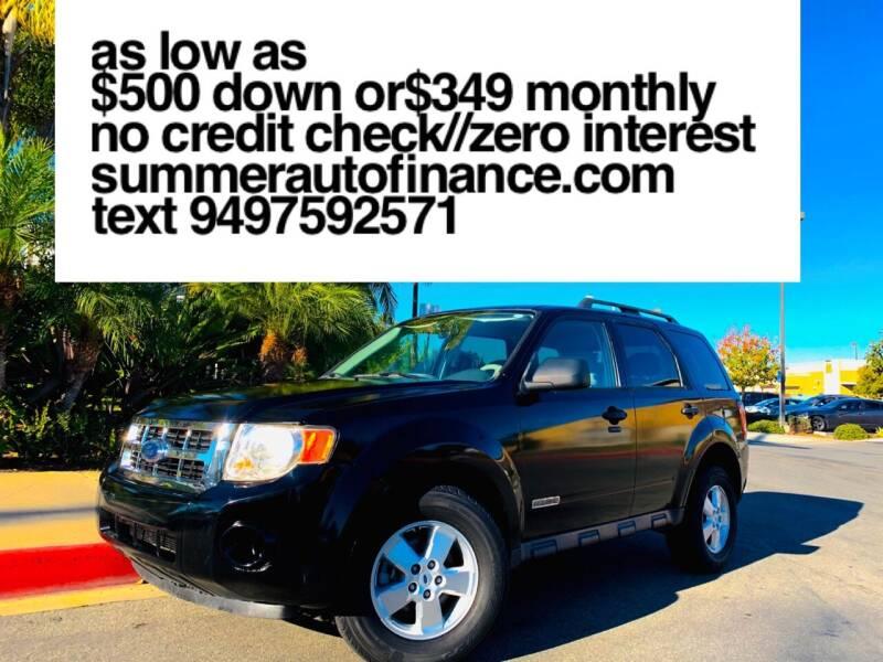 2008 Ford Escape for sale at SUMMER AUTO FINANCE in Costa Mesa CA