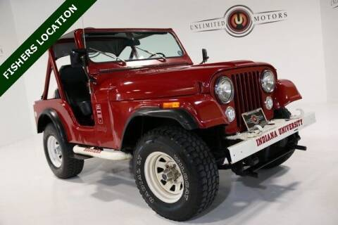 1981 Jeep CJ-5 for sale at Unlimited Motors in Fishers IN