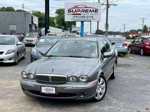 2005 Jaguar X-Type for sale at Supreme Auto Sales in Chesapeake VA
