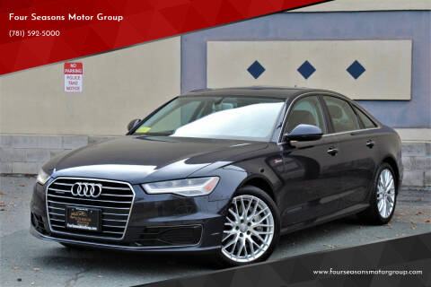 2016 Audi A6 for sale at Four Seasons Motor Group in Swampscott MA