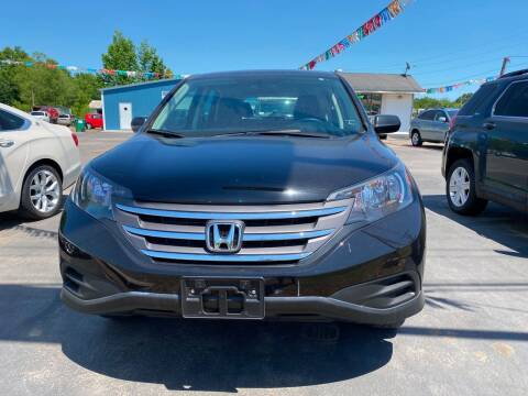2013 Honda CR-V for sale at BEST AUTO SALES in Russellville AR