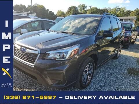 2019 Subaru Forester for sale at Impex Auto Sales in Greensboro NC