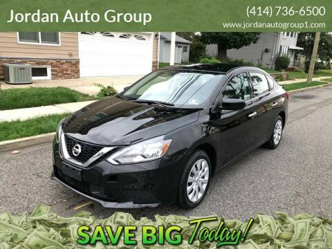 2018 Nissan Sentra for sale at Jordan Auto Group in Paterson NJ