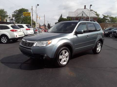 2010 Subaru Forester for sale at Sarchione INC in Alliance OH