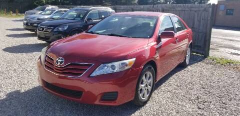 2011 Toyota Camry for sale at DANVILLE AUTO SALES in Danville IN