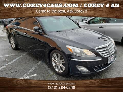 2014 Hyundai Genesis for sale at WWW.COREY4CARS.COM / COREY J AN in Los Angeles CA