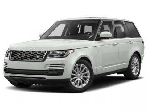 2019 Land Rover Range Rover for sale at SCOTT EVANS CHRYSLER DODGE in Carrollton GA