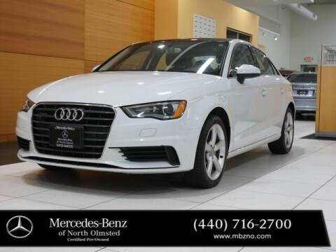 2015 Audi A3 for sale at Mercedes-Benz of North Olmsted in North Olmstead OH