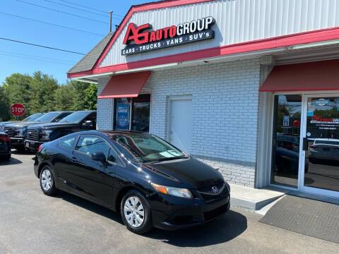 2012 Honda Civic for sale at AG AUTOGROUP in Vineland NJ