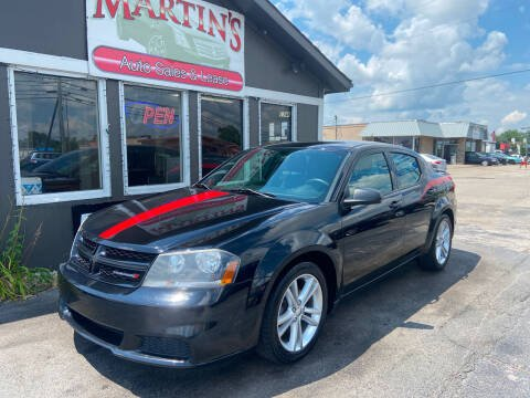 2014 Dodge Avenger for sale at Martins Auto Sales in Shelbyville KY