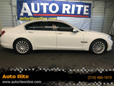 2009 BMW 7 Series for sale at Auto Rite in Bedford Heights OH