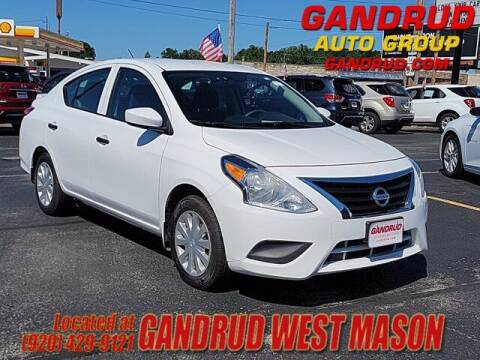 2018 Nissan Versa for sale at GANDRUD CHEVROLET in Green Bay WI