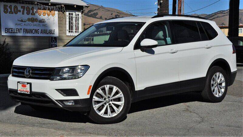 2018 Volkswagen Tiguan for sale at AMC Auto Sales, Inc. in Fremont CA