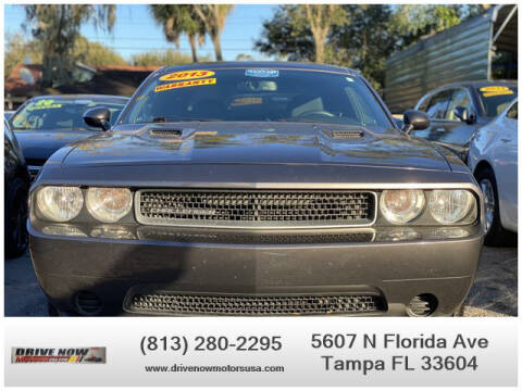 2013 Dodge Challenger for sale at Drive Now Motors USA in Tampa FL