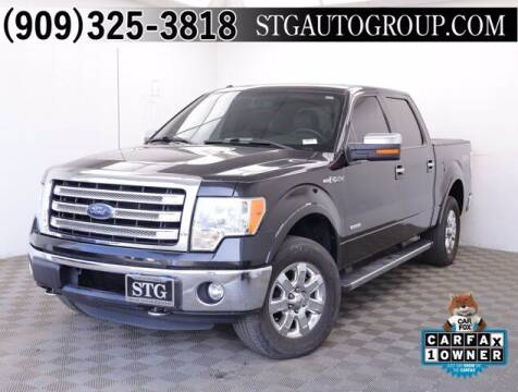 2013 Ford F-150 for sale at STG Auto Group in Montclair CA