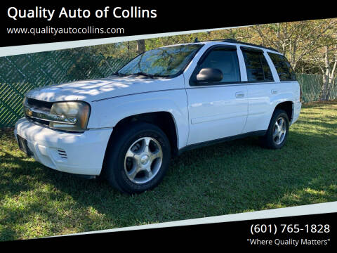2008 Chevrolet TrailBlazer for sale at Quality Auto of Collins in Collins MS