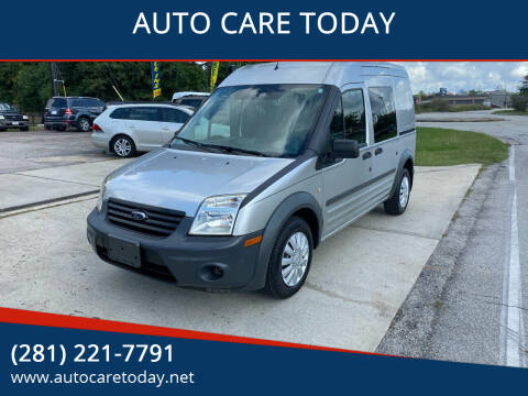 2010 Ford Transit Connect for sale at AUTO CARE TODAY in Spring TX