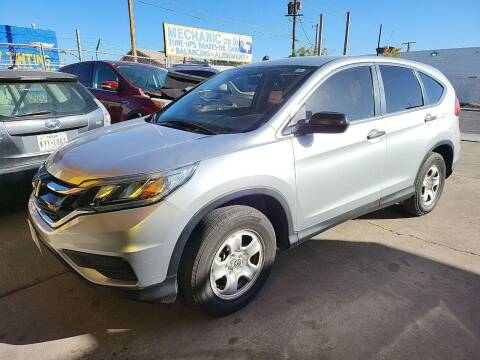 2015 Honda CR-V for sale at FM AUTO SALES in El Paso TX