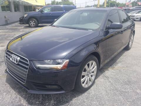 2014 Audi A4 for sale at Castle Used Cars in Jacksonville FL