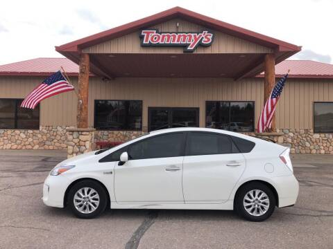 2015 Toyota Prius Plug-in Hybrid for sale at Tommy's Car Lot in Chadron NE