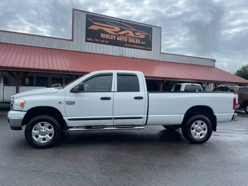 2007 Dodge Ram Pickup 2500 for sale at Ridley Auto Sales, Inc. in White Pine TN