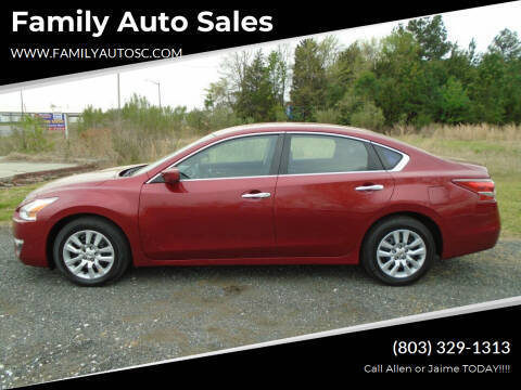 2013 Nissan Altima for sale at Family Auto Sales in Rock Hill SC