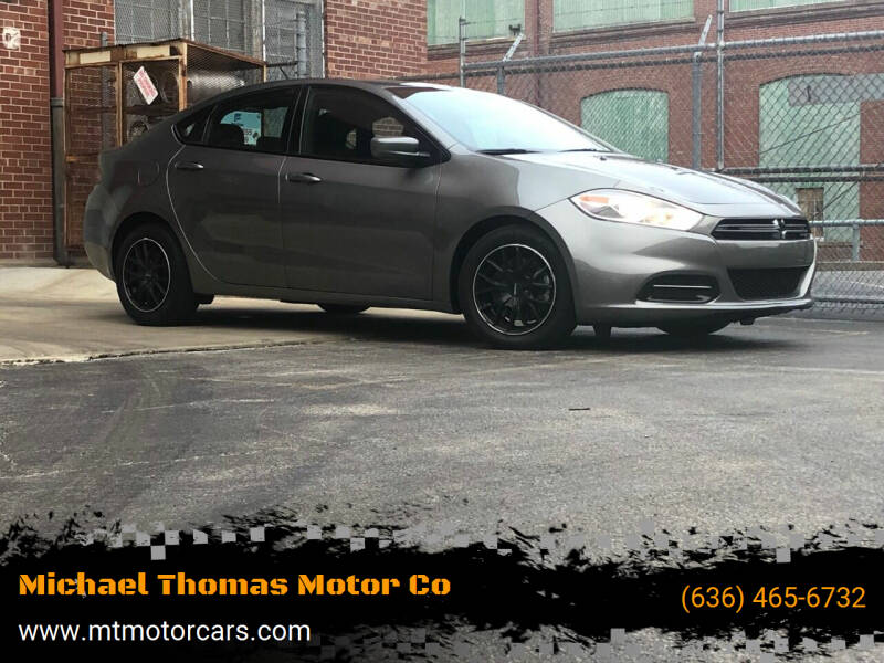 2013 Dodge Dart for sale at Michael Thomas Motor Co in Saint Charles MO