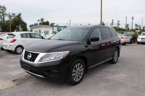 2013 Nissan Pathfinder for sale at Jamrock Auto Sales of Panama City in Panama City FL