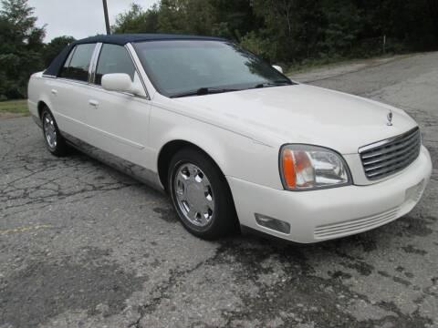 2001 Cadillac DTS for sale at Peekskill Auto Sales Inc in Peekskill NY