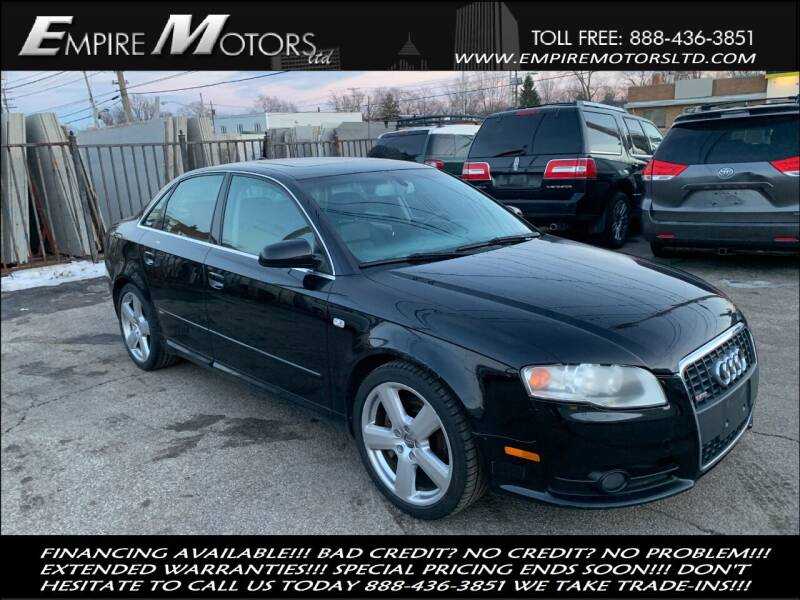 2006 Audi A4 for sale at Empire Motors LTD in Cleveland OH