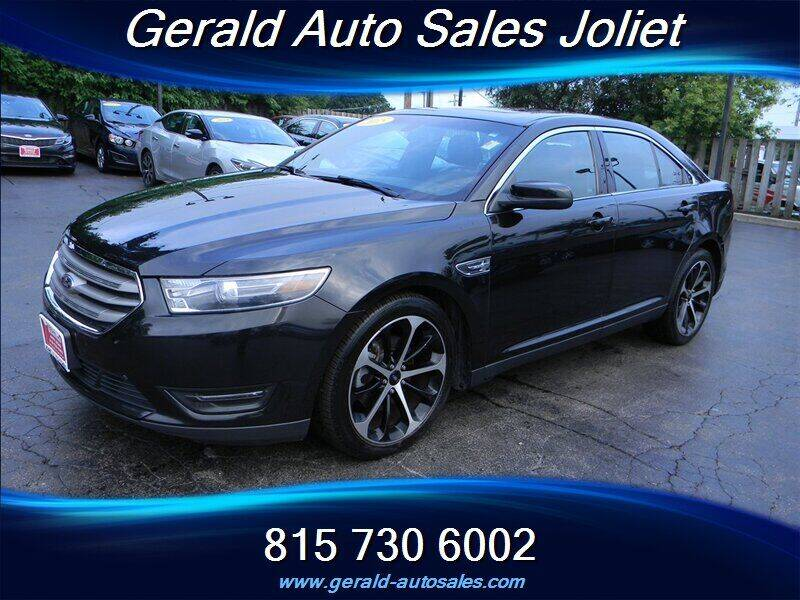 2015 Ford Taurus for sale at Gerald Auto Sales in Joliet IL