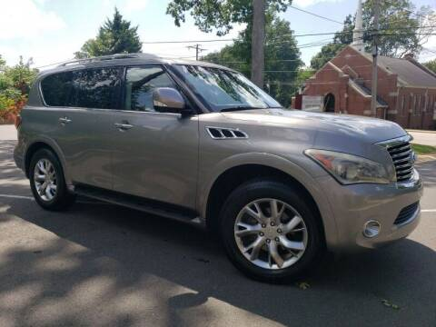 2012 Infiniti QX56 for sale at McAdenville Motors in Gastonia NC