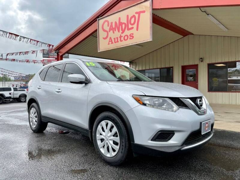 2015 Nissan Rogue for sale at Sandlot Autos in Tyler TX