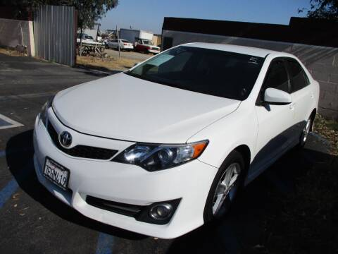 2014 Toyota Camry for sale at F & A Car Sales Inc in Ontario CA