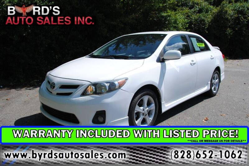 2012 Toyota Corolla for sale at Byrds Auto Sales in Marion NC