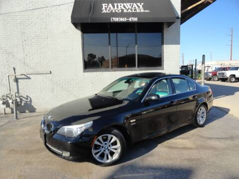 2009 BMW 5 Series for sale at FAIRWAY AUTO SALES, INC. in Melrose Park IL