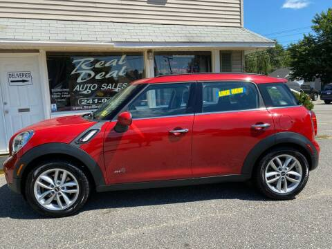 2014 MINI Countryman for sale at Real Deal Auto Sales in Auburn ME